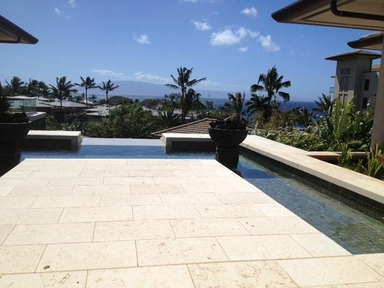 The Kapalua Villas, Maui: View from Kapalua Day Spa