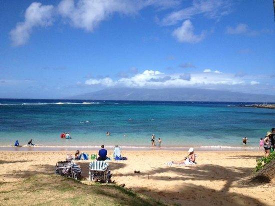 The Kapalua Villas, Maui: Snorkelling beach at Kapalua