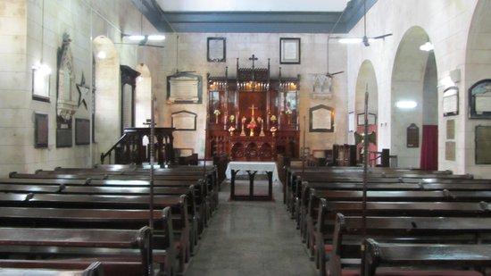 St Peter's Church: binnen in de kerk