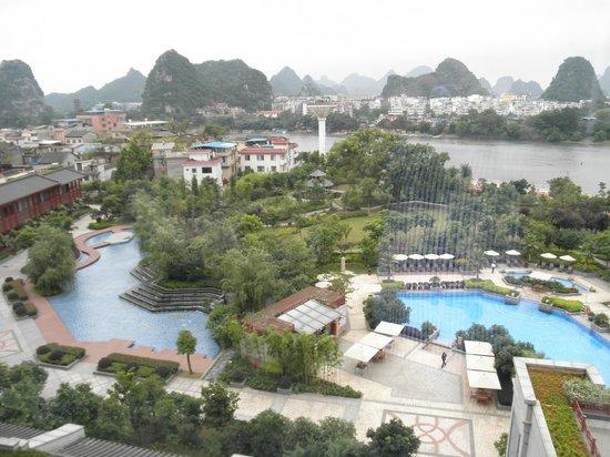 โรงแรมแชงกรีลา กุ้ยหลิน: Vistas desde la habitacion