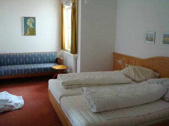 Landhaus Charlotte: Slaapkamer appartement