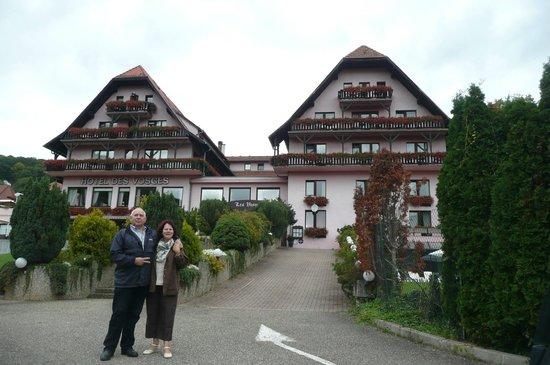 Hotel des Vosges: Lors de notre départ