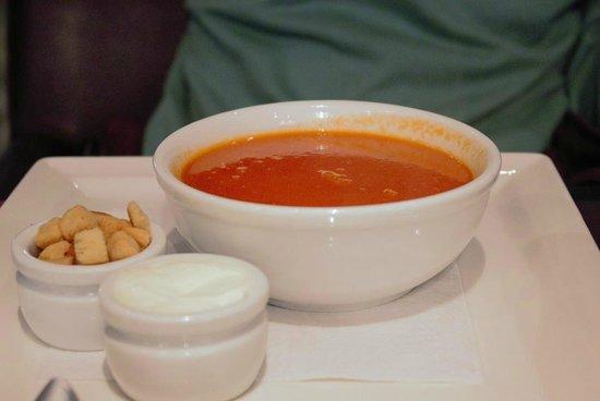 Boston Steak House: Tomato Soup