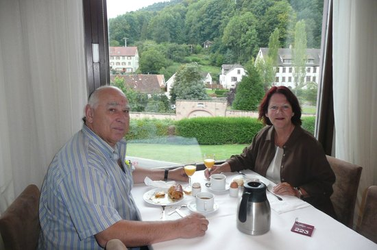 Hôtel des Vosges : Souper à la salle à manger