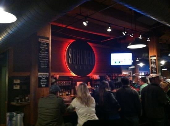 Schlafly Tap Room: the Left Bar