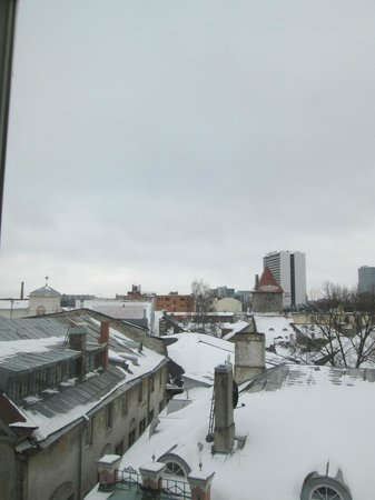 Hotel Telegraaf: Mañana nevada desde mi habitación
