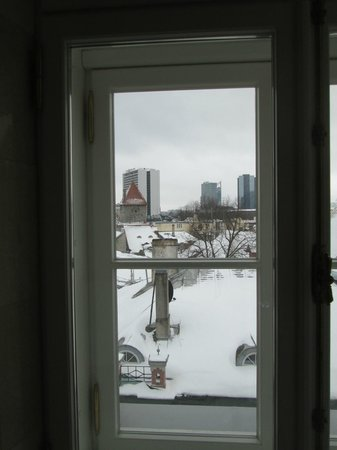 Hotel Telegraaf: A mi llegada, esta vista