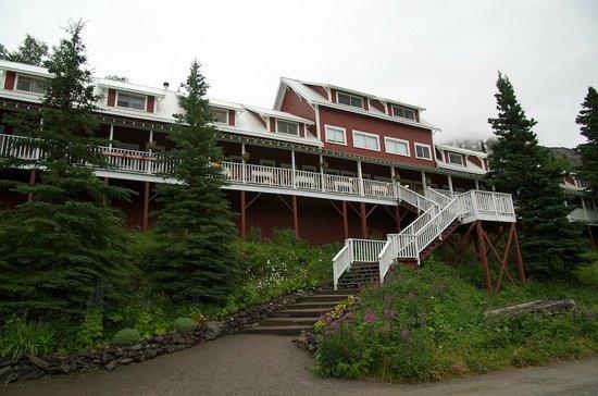 Kennicott Glacier Lodge: Le bâtiment principal