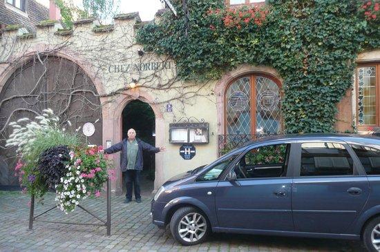 Hôtel Chez Norbert : À notre arrivée