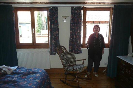 Hôtel Chez Norbert : Notre grande chambre