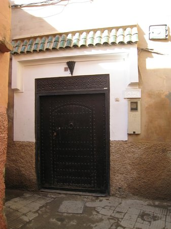 Riad Dar-K: Dar-K Main Door