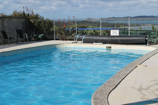 Cook's Lookout Motel: Nicely heat swimming pool