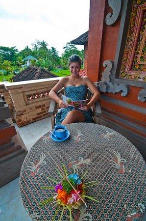 Kori Bali Inn: balcony