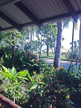 Baan Klang Aow Beach Resort: View from the restaurant