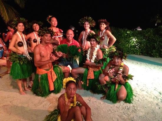 InterContinental Bora Bora Resort & Thalasso Spa: photo session after the dance