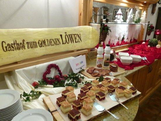 Gasthof Zum Goldenen Lowen: Dessertbuffet