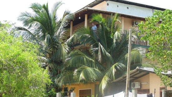 Wila Safari Hotel: prachtige hoekkamer, super uitzicht