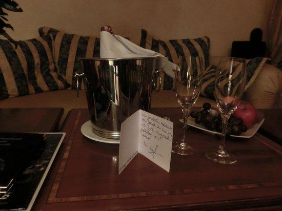 Hotel Burg Wernberg: 2.Willkommensguß