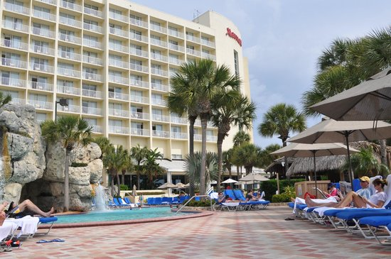 Clearwater Beach Marriott Suites on Sand Key : The pool