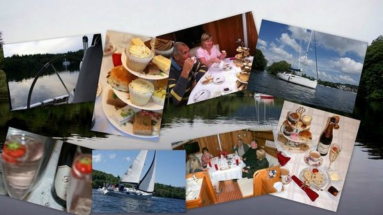 Bowness-on-Windermere, UK: Sailing Dinner Cruises