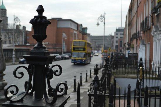 Maldron Hotel Parnell Square: Zona de PArnell Square