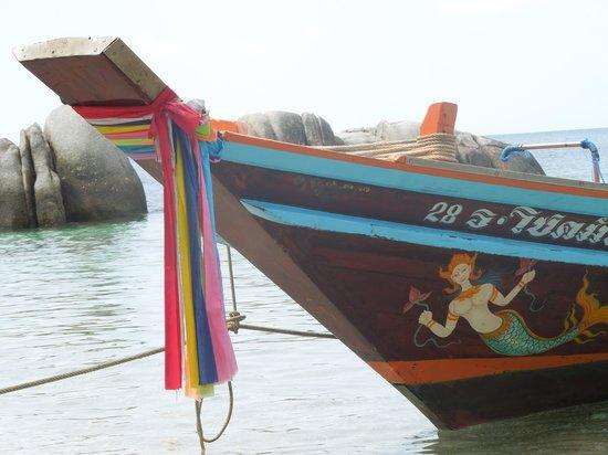 หาดทรายนวล: taxi boat