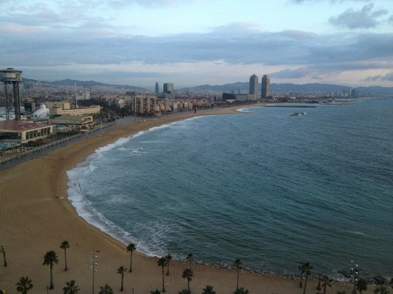 W Barcelona: View from the room