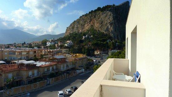 Splendid Hotel La Torre: vista sul borgo di mondello