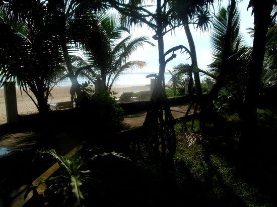 Jagabay Resort: Blick von der Terrasse