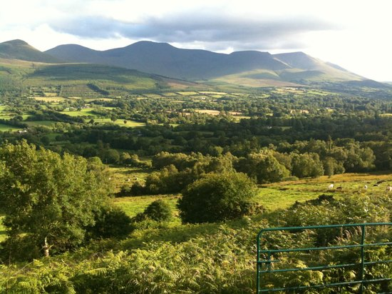 Tipperary, Ierland:                   the beauty of the Glen