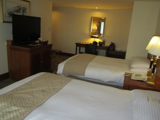 Imperial Hotel Taipei: 寝心地の良いマットレスです