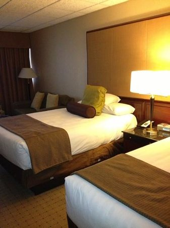 Old Bay Restaurant: double bed room