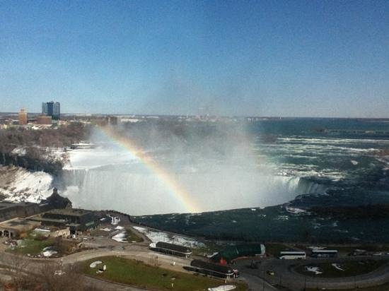 Radisson Hotel & Suites Fallsview: View from our room! Wow!