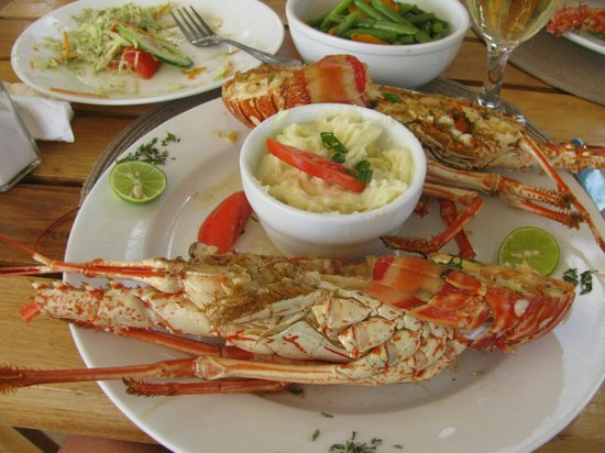 Westender Inn: My lobster and it was to die for