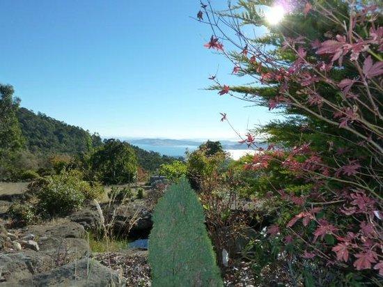 Woodbridge Hill Hideaway: Views from garden
