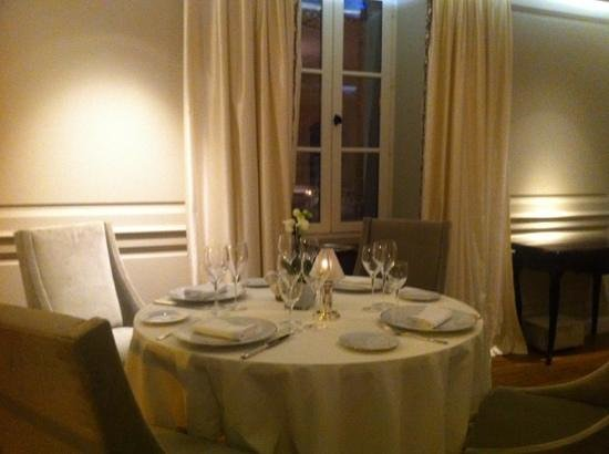La Villa Archange: table ready for us
