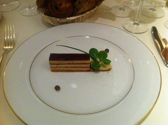 La Villa Archange: duck liver in new shape :)
