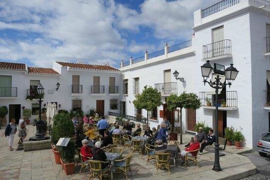Nerja Club & Spa: Cafe in Frigiliana