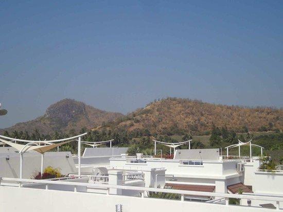 Pineapple Hills Resort: Udsigt fra tag