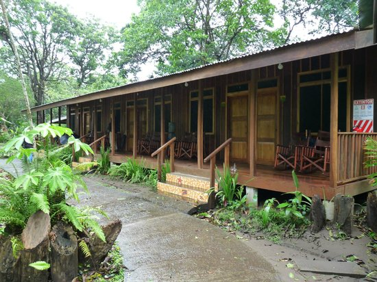 Laguna Lodge Tortuguero: View of the rooms