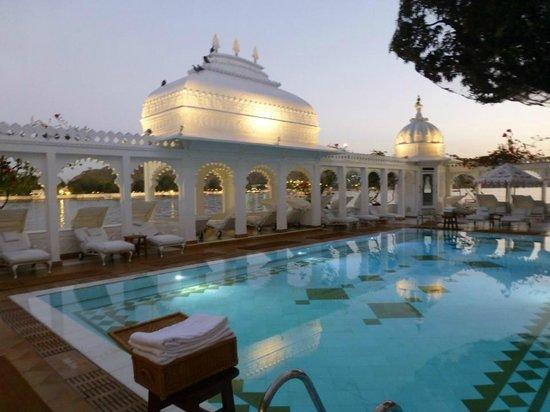 Taj Lake Palace Udaipur: The pool
