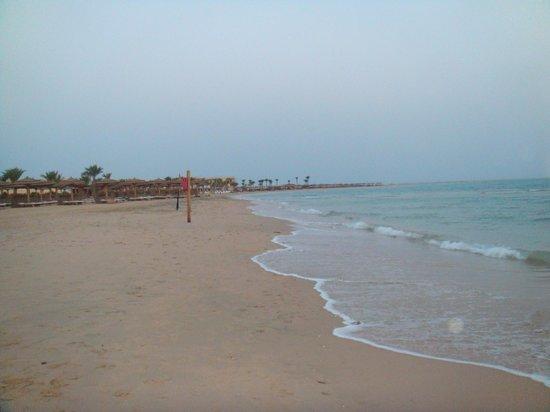 فندق كيمبينسكي خليج سوما: Morgens am Strand