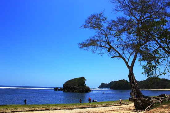 Malang, Indonesia: Pantai Kondang Merak ; Photo by VINO
