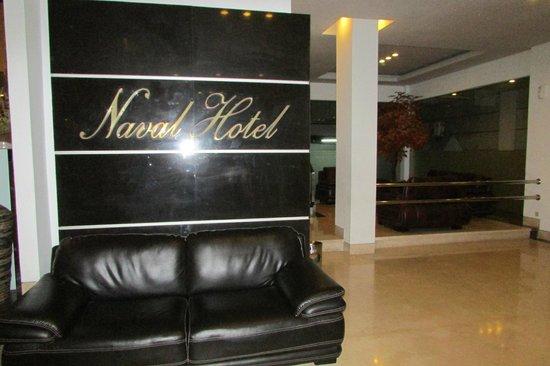 Naval Hotel: Hotel Lobby