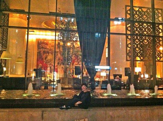 Sofitel Wanda Beijing: Entrada posterior del hotel