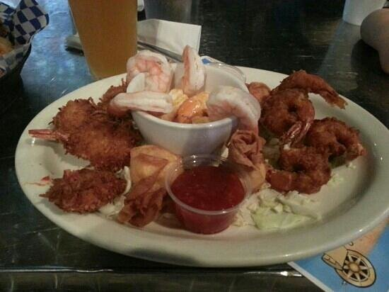 Rock House : Shrimp Sampler