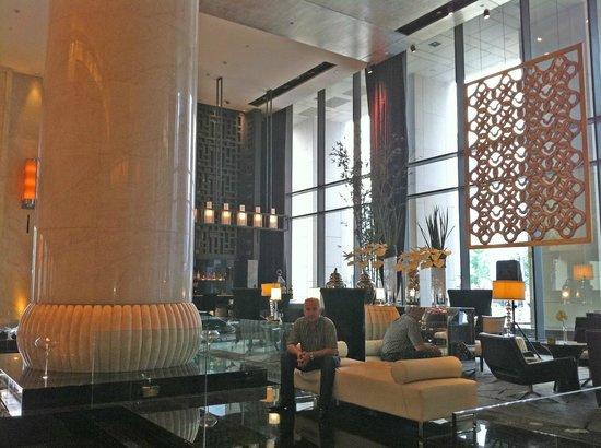 Sofitel Wanda Beijing: Zona de bar