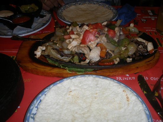 Cactus Alicante :                                     Fajitas