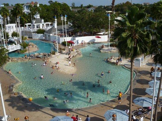 Disney's Yacht Club Resort:                   Stormalong Bay