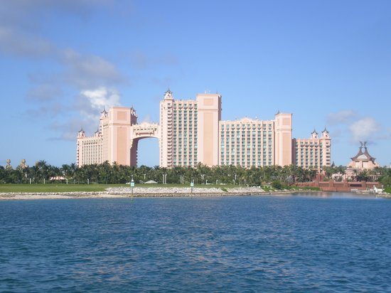 Atlantis, Beach Tower, Autograph Collection: view from the golf course